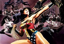 Wonder Woman: Defender Of Truth (Box Canvas Deluxe) by DC - Box Canvas Deluxe sized 38x26 inches. Available from Whitewall Galleries