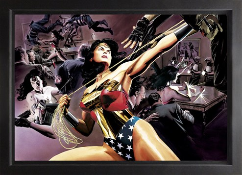 Wonder Woman: Defender Of Truth (Box Canvas Deluxe) by DC - Framed Box Canvas Deluxe
